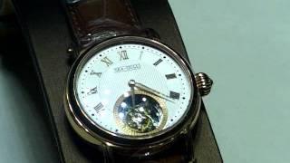 中国のシーガル社のトゥールビヨン時計たちです。シーガルの時計は精度...