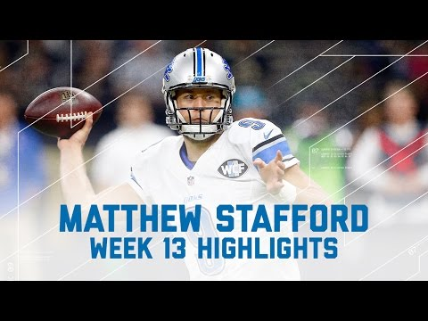Matthew Stafford Dominates with 341 Yards & 2 TDs | Lions vs. Saints | NFL Week 13 Player Highlights