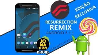 ROM ▶RR - RESURRECTION REMIX CHINA EDITION (EXCLUSIVA) ANDROID 5.1.1 LOLLIPOP | PARA MOTO G2 / 2014