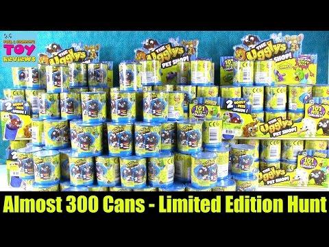 Mega Ugglys Pet Shop Limited Edition Hunt Almost 300 2 Pack Blind Bags | PSToyReviews