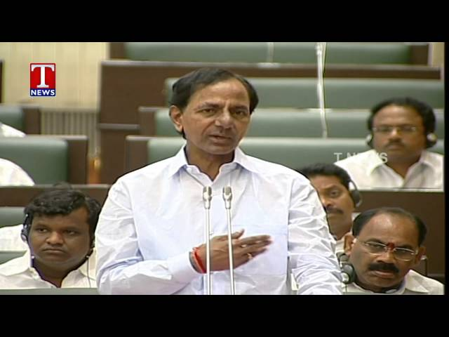 KCR Clarifies About His Health Rumors In Assembly