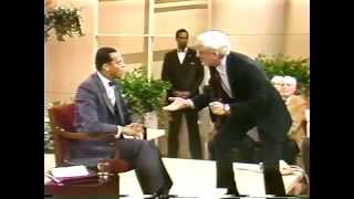 ''Minister Farrakhan's First Appearance On Donahue 1985.''
