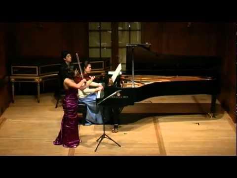 Enescu Sonata #3 (I) - Maia Cabeza, violin & Amy J. Yang, piano