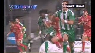 ASSE 2-1 Hapoël Tel Aviv - 1er tour retour de la Coupe UEFA 2008-2009