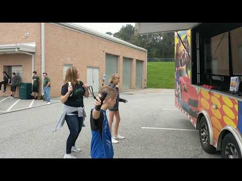 Twin Valley Middle School Raiders Awesome Homecoming Video Game Event Highlights