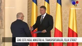 Felix Stroe a preluat funcția de ministru al Transporturilor - Litoral TV
