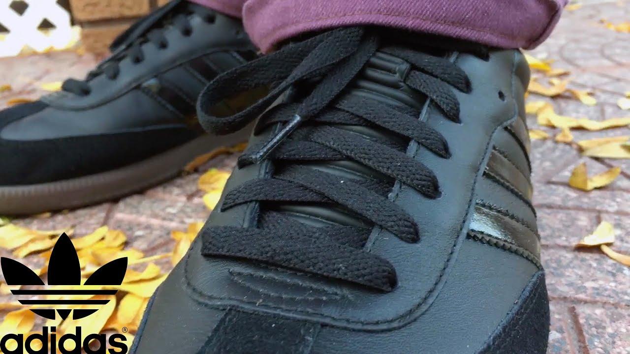 Adidas SAMBA personalized BlackYellow | Adidas sneakers