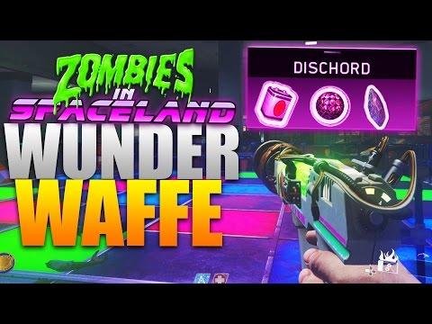 """WUNDERWAFFE / DISCHORD auf """"Zombies in Spaceland"""" bauen! - Infinite Warfare Zombie Mode"""