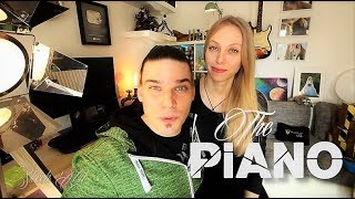 Sunny piano cover music from ''The Piano'' movie
