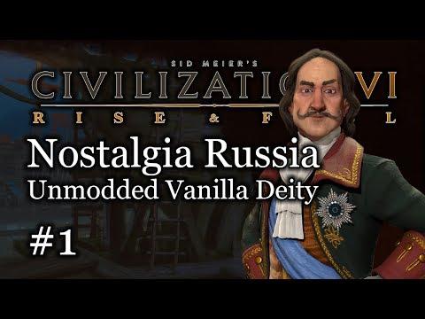 #1 Deity Russia Nostalgia Let's Play - Vanilla Civ 6 Gameplay