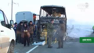 52 Uzbeks Killed In Kazakhstan Bus Inferno