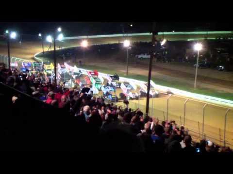 Port Royal Speedway All Star Sprint Car Highlights 9-06-13
