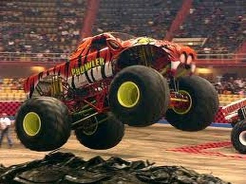 Monster Truck Camion De Monstre Les Dessins Animés Pour Enfants