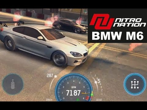 Nitro Nation Bmw M6 Tune Race Cl A 1 4 Mile Stage 8