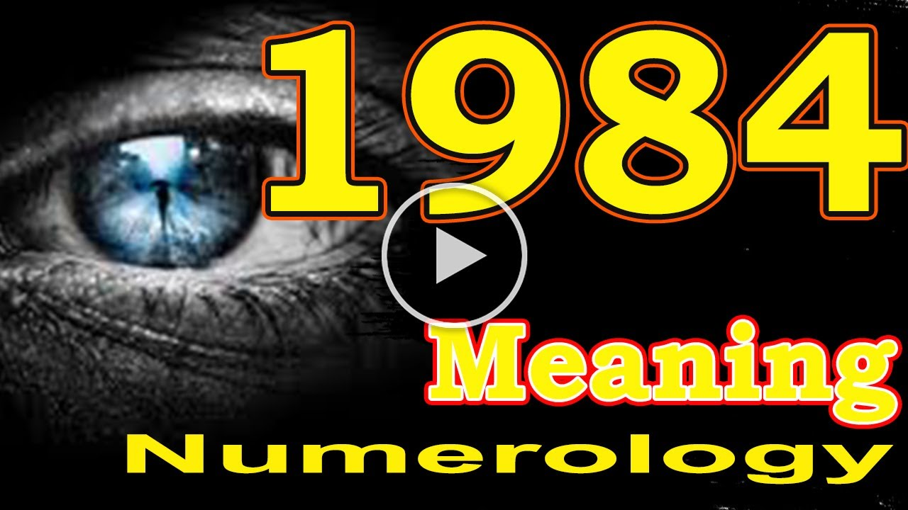 🔴 Angel Number Meanings 1984 ✅ Seeing 1984 ✅ Numerology Box