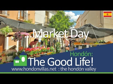 The Good Life: Hondón Valley Market Day