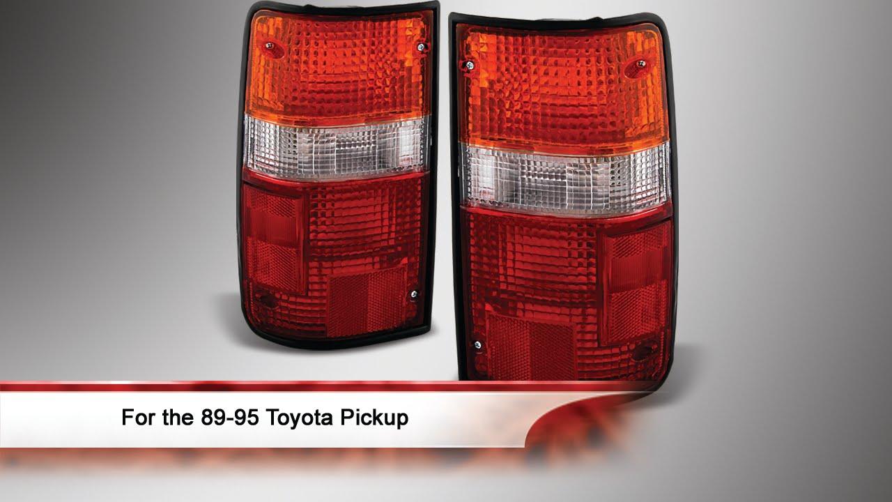 89 95 toyota pickup oem style tail lights