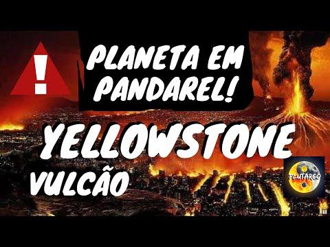 O TEMIDO VULCÃO YELLOWSTONE ESTÁ ACORDANDO! MÍDIAS DO BRASIL ESCONDEM EFEITOS DE NIBIRU