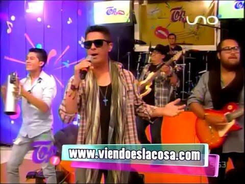 VIDEO: GRUPO EN COMA - Presentación en TOP UNO - En Vivo - WWW.VIENDOESLACOSA.COM - Cumbia 2016