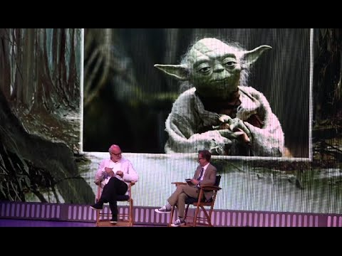 """Yoda himself, Frank Oz, ends Star Wars Weekend at Disney World with """"A Conversation with Frank Oz"""""""