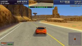 Need For Speed III - Hot Pursuit - Hot Pursuit: Red Rock Ridge (1998) (WINDOWS)