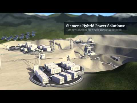 Siemens Hybrid Power Solutions For Mines
