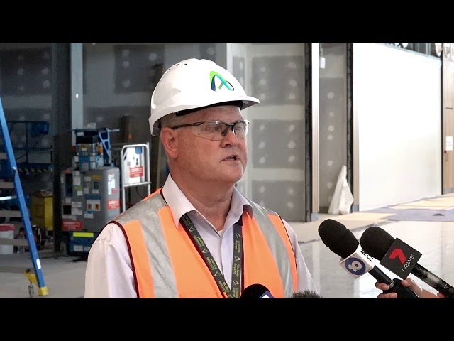 5dme New Terminal Expansion Mark Young - Adelaide Airport