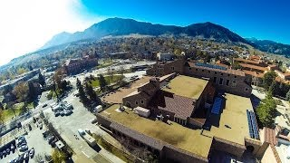 College Tour: The University of Colorado at Boulder. #besomebody.
