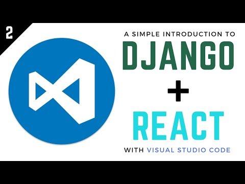 Django and React Tutorial // 2 - Handing Post Requests thumbnail
