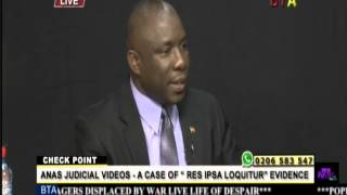 Anas Judicial Videos a Case Of Res Ipsa Loquitur Evidence