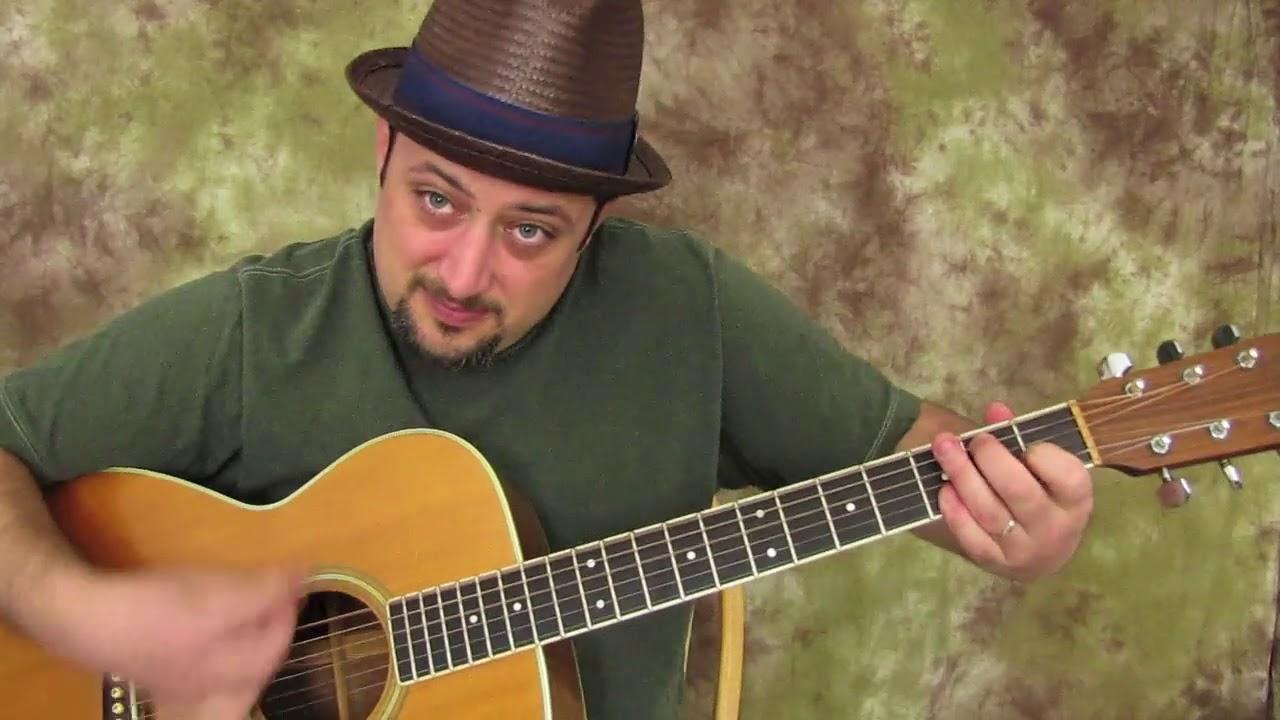 3 Acoustic Blues Chords E7 A7 B7 Youtube