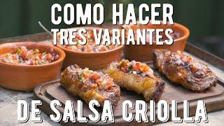 Video Como hacer Salsa Criolla, Salsa Pebre y Pico de Gallo - El Laucha Responde download MP3, 3GP, MP4, WEBM, AVI, FLV Agustus 2018