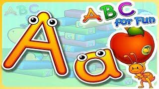 字母 A | The Letter A | ABC for Fun