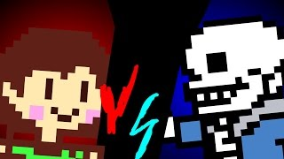 Sprite Animation with 2 Undertale characters. Twitter- https://twit...