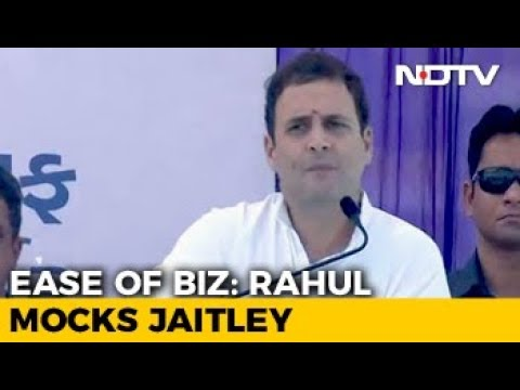 Hit A Button On Your Phone, And A Chinese Youth Gets A Job: Rahul Gandhi