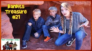Solving the BANDiTS FiNAL RiDDLE Bandit Treasure #21 / That YouTub3 Family I Family Channel