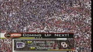 #9 Kansas State Wildcats at #3 Oklahoma Sooners - 2001 - Football