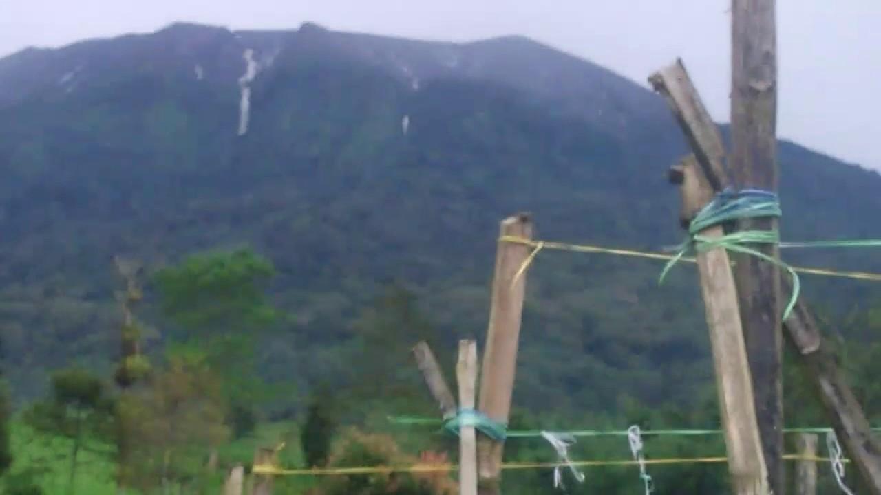 Air Terjun Gunung Merapi Sumatra Barat YouTube