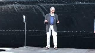 Edgar Reitz bei der Eröffnung der Heimat Europa Filmfestspiele in Simmern (9. August 2020)