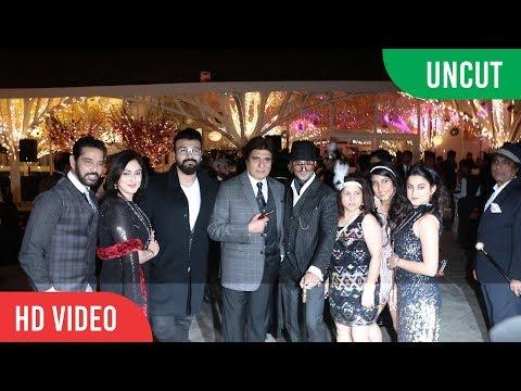 Prateik Babbar And Sanya Sagar's WeddingGrand Reception Party | Full Video