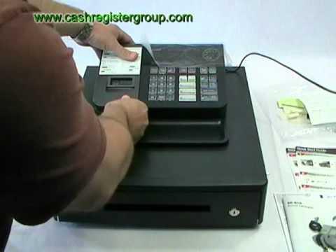casio se s10 cash register installation video first time. Black Bedroom Furniture Sets. Home Design Ideas