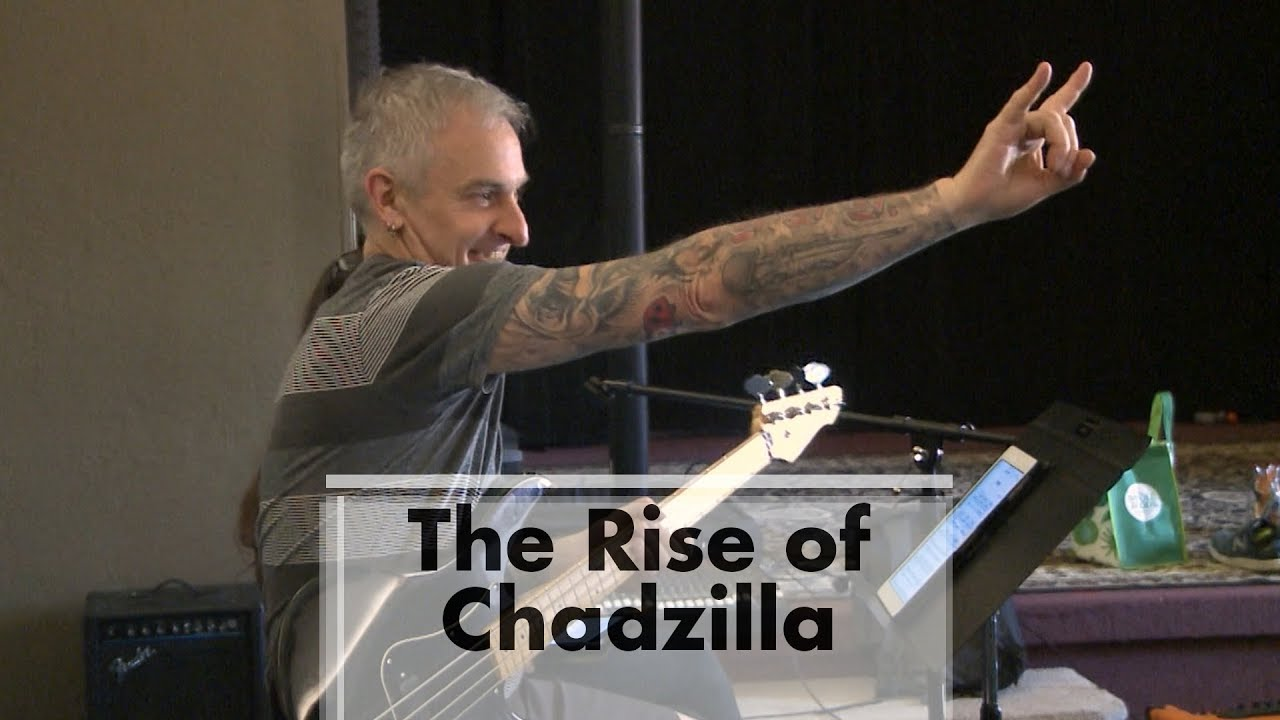 CHADZILLA IN ACTION