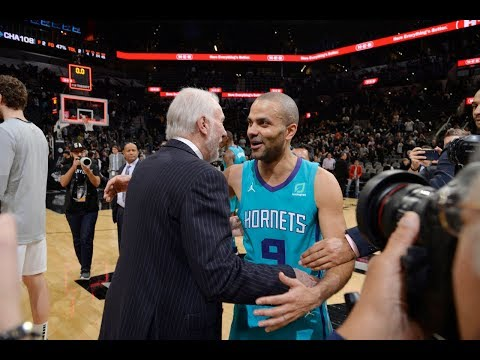 Tony Parker's Emotional Return To San Antonio | January 14, 2019