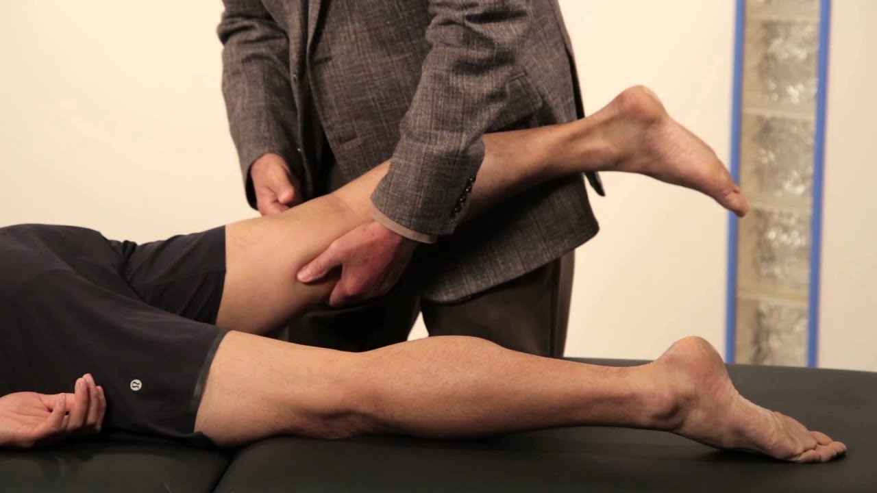 physical examination: nerve root irritation tests femoral stretch, Muscles