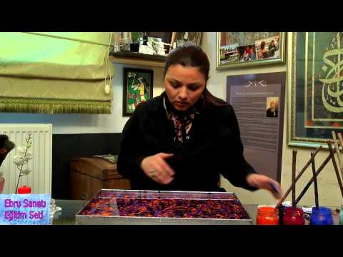 Paper Marbling Training Set & Water Color Marbling