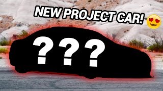 MY NEW PROJECT CAR REVEAL!!! (Drift Build?)