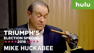 Triumph the Insult Comic Dog Mentors Mike Huckabee • Triumph on Hulu