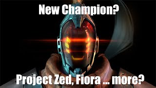 Neuer Champion? | Project Zed, Lucian, Leona, Fiora | League of Legends Breaking News [German]