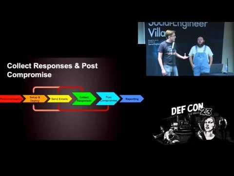 DEF CON 23 - Social Engineering Village - Adam Compton & Eric Gershman - SpeedPhishing Framework