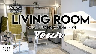 OUR ULTIMATE LIVING ROOM TRANSFORMATION/MAKEOVER TOUR! ( ANG BONGGA!! ) | Nina Rayos 💋